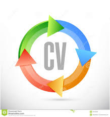 cv curriculum vitae cycle sign concept stock illustration image cv curriculum vitae cycle sign concept
