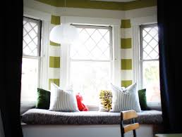 furniture inspiration exquisite window seat cushions custom and fabric home interior fine white bowl bay window seat cushion
