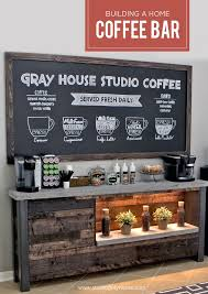 diy home coffee bar attractive coffee bar home 4