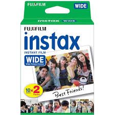 Fujifilm Colorfilm <b>INSTAX WIDE Glossy 10/2PK</b> Photo Paper ...