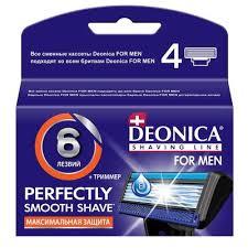 станок д бритья deonica for men 3 лезвия 1 кассета