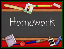 Image result for clipart homework