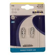 <b>Лампа</b> светодиодная <b>NARVA</b> T10 W5W 12V-0,6W LED 6000K 2 ...