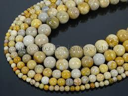 <b>Natural Chrysanthemum Stone</b> Gemstone Round Spacer <b>Beads</b> 15.5