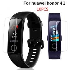 <b>Huawei</b> Honor Band 3 4 <b>10pcs Screen</b> Protector | Shopee Philippines