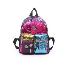 <b>Vento Marea Women</b> Sequin Backpack Cute Schoolbag For ...