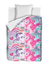 <b>Комплект постельного белья Непоседа</b> Подружки пони белый ...