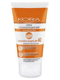 <b>Крем солнцезащитный</b> SPF40 для <b>лица</b> и тела КОРА 2250052 в ...
