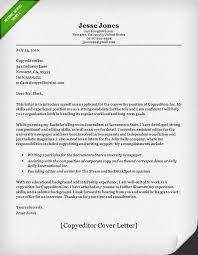Copywriter Cover Letter Sample Resume Genius