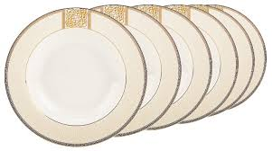 Fioretta <b>Набор суповых тарелок</b> Dynasty 23 см, 6 шт — купить по ...