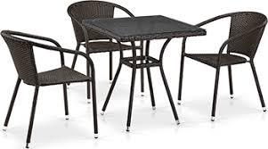 <b>Комплект мебели Афина T</b> 282 BNT/Y 137 C-W 53 Brown 3Pcs ...