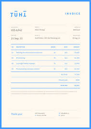 invoice design 50 examples to inspire you blog design and invoice design 50 examples to inspire you
