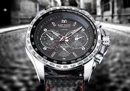 <b>MEGIR Hot Fashion Man'S</b> Quartz Wristwatch Brand Waterproof ...