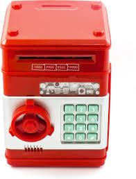 """<b>Копилка Эврика</b> """"Сейф"""", цвет: красный. 94926 — купить в ..."""