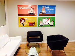who says you can t have fun at work by powtoon for starters we recently moved to a brand new gorgeous office complete a phenomenally and appropriately decorated sitting area