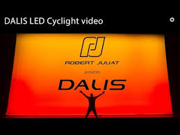 DALIS 860, the 300W <b>LED</b> Asymmetric Cyclight by Robert Juliat