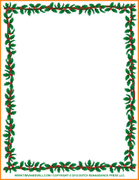 11 word doc border templates sample of invoice word doc border templates christmas clipart borders holly border jpg caption