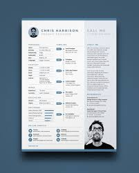 resume templates   creative bloqresume and cv templates