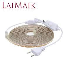 <b>LAIMAIK</b> SMD 3014 <b>Strip Led Light</b> AC220V 120led/M Garland <b>Tape</b> ...