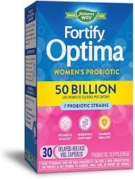 Nature's Way <b>Fortify Optima</b> Women's 50 Billion <b>Probiotic</b>