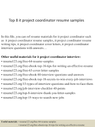 topitprojectcoordinatorresumesamples conversion gate thumbnail jpg cb