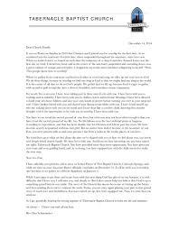 ministry resignation letter