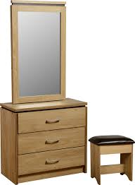 table mirror: traditional dressing table mirror with drawers adding mini chairs