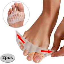 Mini New 1 Pair Toe Pads Soft Silicone Gel Shock Anti ... - Airyclub
