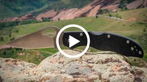 Видео: Презентация <b>складного ножа Spyderco Byrd</b> Harrier 2