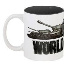 <b>Кружка</b> цветная внутри <b>World of</b> Tanks #164633 в Москве – купить ...