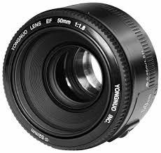 <b>Объектив YongNuo AF 50mm</b> f/1.8 Canon EF — купить по ...