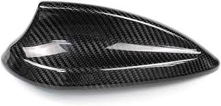 Carbon Fiber Roof Antenna Shark Fin Frame Decal ... - Amazon.com