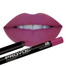 <b>Полуперманентный гелевый карандаш для</b> губ Provoc 28 Sexy ...