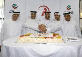 (From Right)Ibrahim Mohammed Al Janahi,Talal Al Hashimi,Mohammed Al Muallem,Mahmood Al Bastaki,Shahab Aljassmi. - pic05176_lw