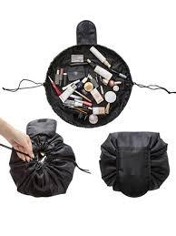 Buy <b>Cosmetic Travel</b> Pouch Large Capacity Drawstring <b>Storage</b> Bag ...
