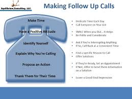 Do You Follow Some Simple Guidelines When Making Follow Up Calls ... Categories