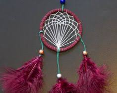 Handmade Long <b>Bohemian</b> Tribal <b>Red Feather</b> by ...