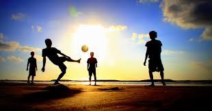 Resultado de imagen para soccer in the beach