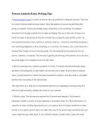 process analysis essay outline  essay example file info writing essay process analysis process analysis essay sample