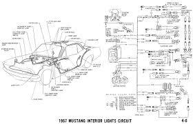 1967 mustang wiring and vacuum diagrams average joe restoration Ford Mustang Wiring Harness pictorial and schematic ford mustang wiring harness