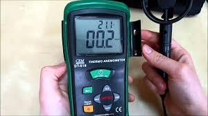 <b>Анемометр CEM DT 618</b> - YouTube