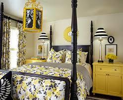 black white yellow living room ideas