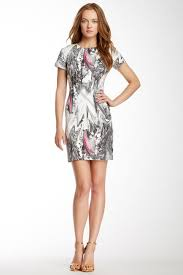 Rachel Roy | Abstract Print Dress | Nordstrom Rack | Nordstrom ...