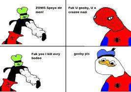 Spiderman meets dolan   Dolan   Know Your Meme via Relatably.com