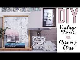 <b>DIY</b>: How to Make <b>Vintage</b> Mirrors or Mercury <b>Glass</b>!! - by Orly Shani ...