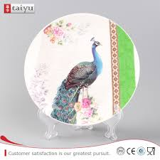 charger plates decorative: handmade european style garden plastic charger plates decorative arts and crafts swing plate hotel charger plates handmade european style garden plastic