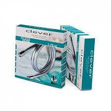 <b>Душевой шланг</b> 1750 мм <b>Clever</b> PVC Box 98881 в цвете хром.