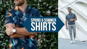 10 Casual <b>Shirts</b> PERFECT for Spring and <b>Summer</b> || <b>Men's</b> Style ...