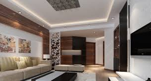 wall lighting rendering living room