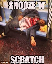 Bloggers expose the rudest and most disgusting subway commuters ... via Relatably.com
